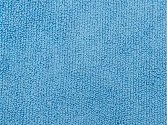 Traditional Woven Microfibre Blue