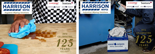 Harrison Wipes New 2016 Brochure