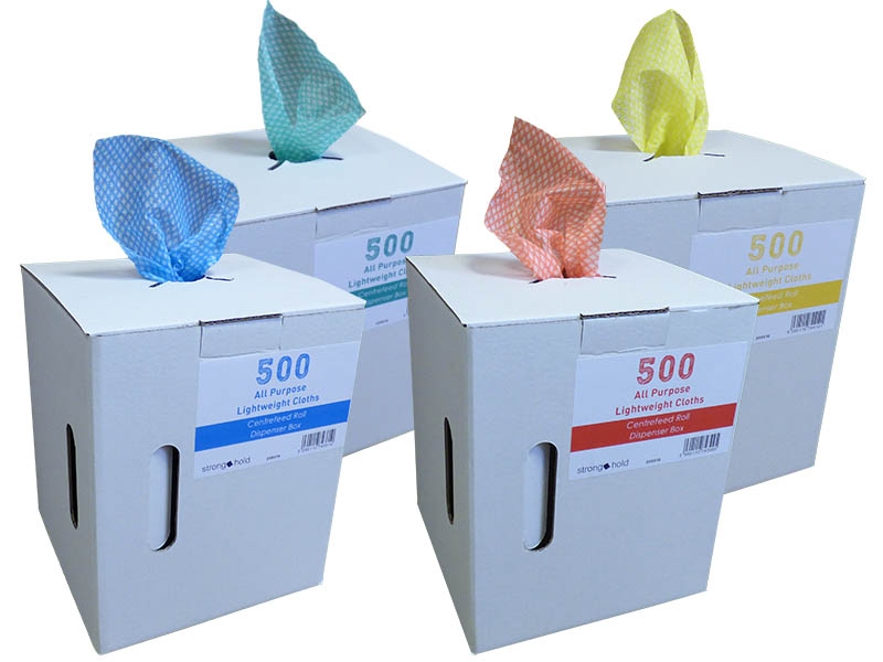 All purpose lightweight dispenser box